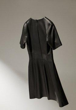 Massimo Dutti - Korte jurk - black