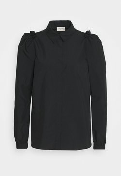Freequent - GIGI COLLAR - Overhemdblouse - black