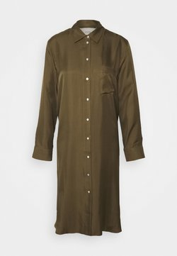 ASCENO - THE OXFORD DRESS - Negligé - light army