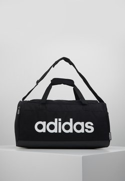 adidas Performance - ESSENTIALS LINEAR SPORT DUFFEL BAG UNISEX - Sportväska - black/white
