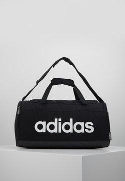 adidas Performance - ESSENTIALS LINEAR SPORT DUFFEL BAG UNISEX - Sports bag - black/white