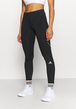 adidas Performance - HOW WE DO - Tights - black/grey six