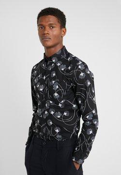Club Monaco - SLIM NOUVEAU SWIRL - Camisa - black