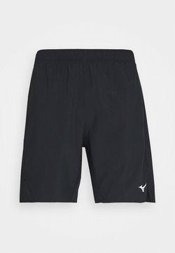 Mizuno - CORE SHORT - Pantalón corto de deporte - black