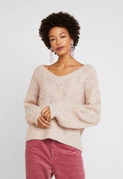 Cream - Sweter - desert pink melange
