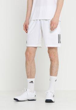 adidas Performance - CLUB SHORT - Träningsshorts - white/black