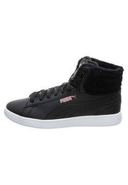 Puma - VIKKY - Korkeavartiset tennarit - black