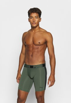 Puma - ACTIVE LONG BOXER PACKED - Underkläder - army green
