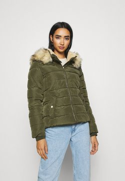 ONLY - ONLCAMILLA QUILTED JACKET  - Winterjacke - forest night