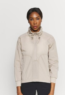 Peak Performance - HIT HALF ZIP - Outdoorjacke - celsian beige