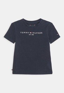 Tommy Hilfiger - BABY ESSENTIAL TEE UNISEX - T-shirt print - twilight navy