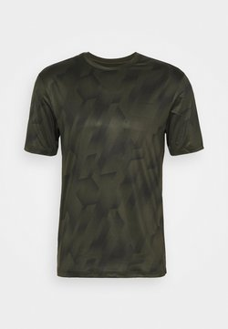 Endurance - KENTS TEE - Camiseta estampada - military green