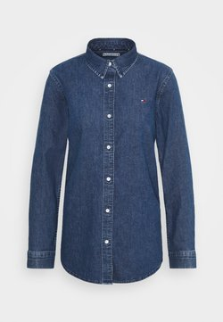 Tommy Hilfiger - RELAXED  - Camicia - blue denim