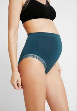 Cache Coeur - MILK MATERNITY SEAMLESS HIGH WAIST BRIEF - Trusser - green