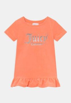 Juicy Couture - BABY HEART ONE FRILL - Vestido ligero - summer neon orange