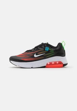 Nike Sportswear - AIR MAX EXOSENSE SE UNISEX - Sneakersy niskie - black/white/flash crimson/green strike