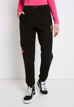Vans - WM 66 SUPPLY SWEATPANT - Pantalones - black