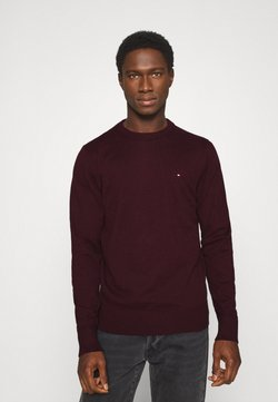 Tommy Hilfiger - PIMA CREW NECK - Stickad tröja - red