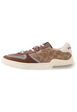 Coach - CITYSOLE SIGNATURE COURT - Sneaker low - khaki/saddle