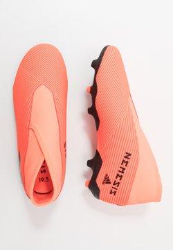 adidas Performance - NEMEZIZ 19.3 FG - Voetbalschoenen met kunststof noppen - signal coral/core black/solid red