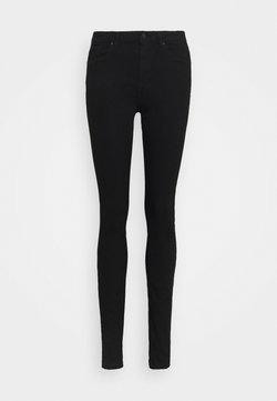Vero Moda Tall - VMTANYA PIPING RAW - Jeans Skinny Fit - black