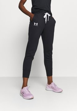 Under Armour - RIVAL - Jogginghose - black