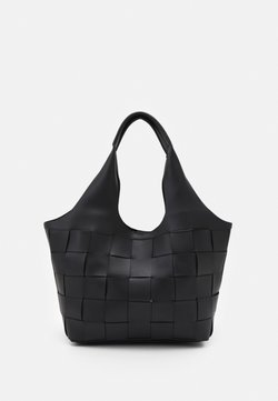 New Look - WILLOW WEAVE - Borsa a mano - black