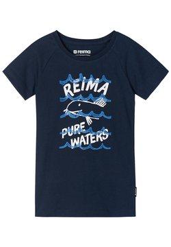 Reima - SILEIN - T-shirt med print - navy