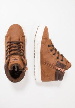 KangaROOS - KAVU  - Sneakers hoog - saddle brown/coffee