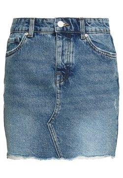 ONLY Petite - ONLSKY SKIRT - Minifalda - light blue denim