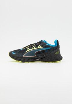 Puma - ULTRARIDE FM XTREME UNISEX - Zapatillas de running neutras - black/nrgy blue/ultra orange