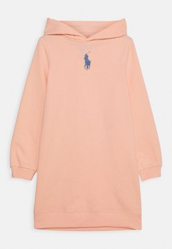 Polo Ralph Lauren - HOOD DRESS - Freizeitkleid - deco coral