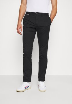 Tommy Hilfiger - DENTON  - Chinot - black