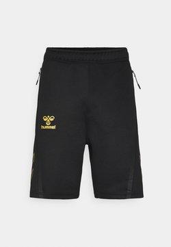 Hummel - CIMA XK SHORTS - Pantalón corto de deporte - black
