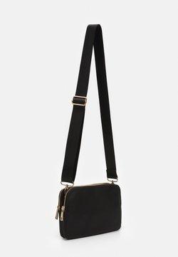 Lindex - TWO POCKET BAG - Schoudertas - black