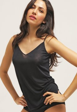 Hanro - PURE SILK - Undershirt - black