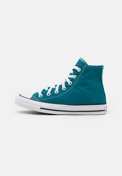 Converse - CHUCK TAYLOR ALL STAR SEASONAL COLOR UNISEX - Korkeavartiset tennarit - bright spruce