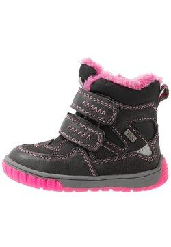 Lurchi - JAUFEN TEX - Snowboot/Winterstiefel - grey/pink