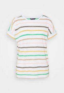 Marks & Spencer London - STRIPE - T-Shirt print - white