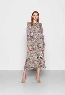 Samsøe Samsøe - RAMI DRESS  - Sukienka letnia - choco
