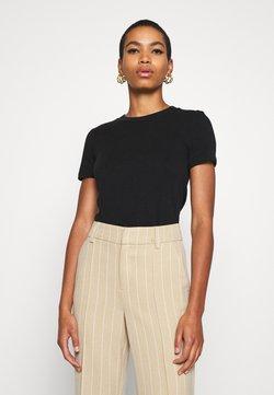American Vintage - SONOMA - T-shirt basique - noir