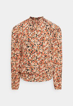 Dorothy Perkins Tall - SUSTAINABLE SHIRRED NECK FLORAL - Bluse - multi