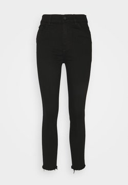 DL1961 - FARROW CROPPED HIGH RISE SKINNY - Jeans Skinny Fit - black