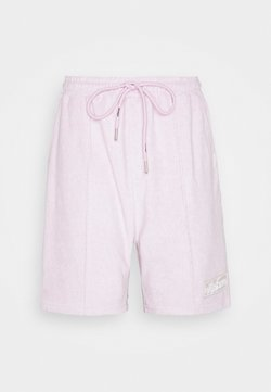 The Couture Club - TCC X ELLESSE MENS TOWELLED PIN TUCK RELAXED FIT - Pantaloni sportivi - lilac
