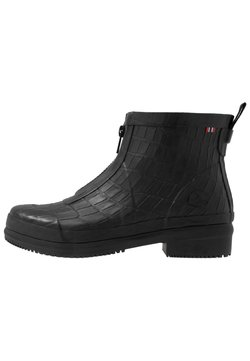 Viking - GYDA CROCO ZIPPER - Regenlaarzen - black