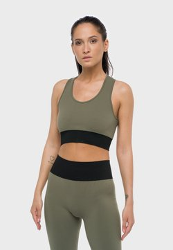 Heart and Soul - KAIA  BRB  - Sport BH - black/olive