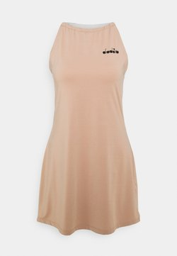 Diadora - DRESS CLAY - Robe de sport - mahogany rose/whisper white