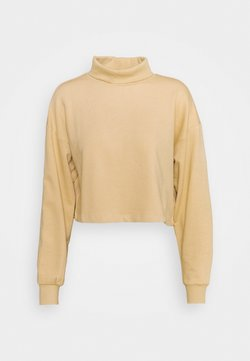 ONLY - ONLMILA CROPPED  - Sweater - warm sand