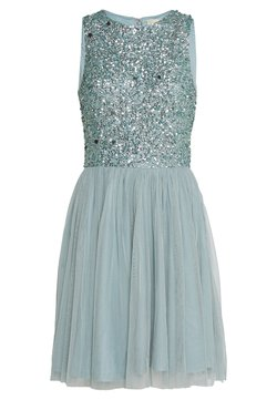 Lace & Beads - PICASSO SKATER - Cocktailkleid/festliches Kleid - teal