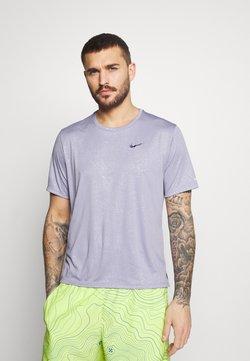 Nike Performance - MILER  - Camiseta de deporte - indigo haze/silver